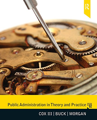 9780205781256: Public Administration in Theory and Practice