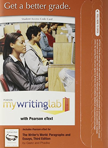 the writers world paragraphs and essays 3rd edition ebook Great writing 1: great sentences for great paragraphs writing: a guide revealing the best ways to make money writing (writing, writing skills, writing prompts book 1) commentary for academic writing for graduate students, 3rd ed.
