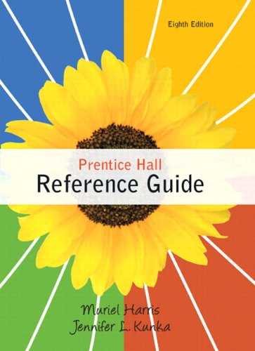 Prentice Hall Reference Guide (8th Edition): Harris, Muriel; Kunka,