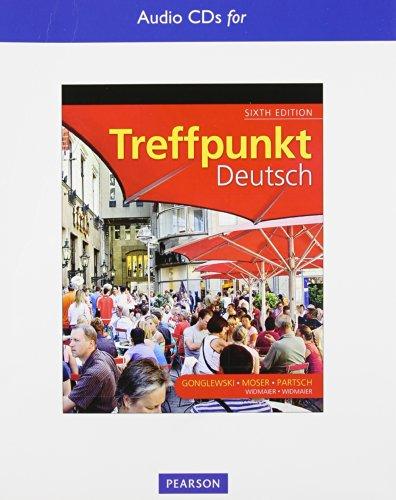 9780205783380: Text Audio CDs for Treffpunkt Deutsch: Grundstufe