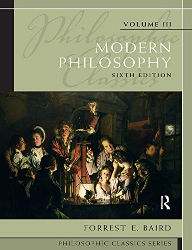 9780205783892: Philosophic Classics, Volume III: Modern Philosophy