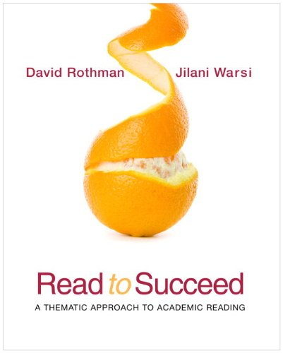 9780205784264: Read to Succeed: A Thematic Approach to Academic Reading (with MyReadingLab Pearson eText Student Access Code Card)