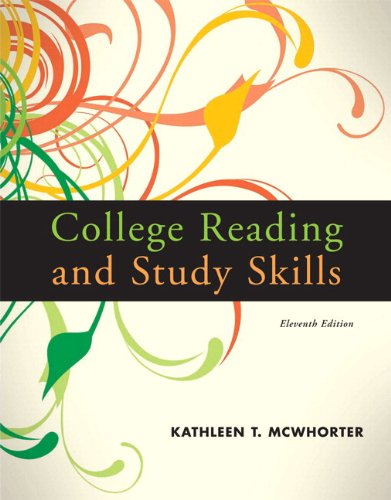 9780205784288: College Reading and Study Skills (with MyReadingLab Pearson eText Student Access Code Card) (11th Edition)