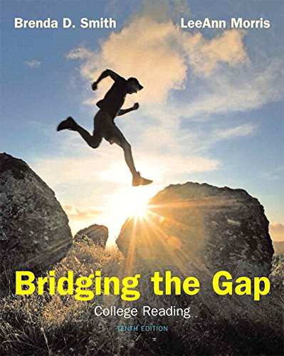 9780205784318: Bridging The Gap: College Reading Plus MyReadingLab -- Access Card Package (10th Edition)