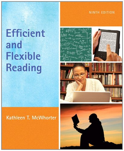 9780205785216: Efficient and Flexible Reading (with MyReadingLab with Pearson eText Student Access Code Card) (9th Edition)