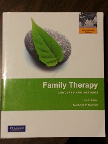 9780205786824: Family Therapy Concepts and Methods