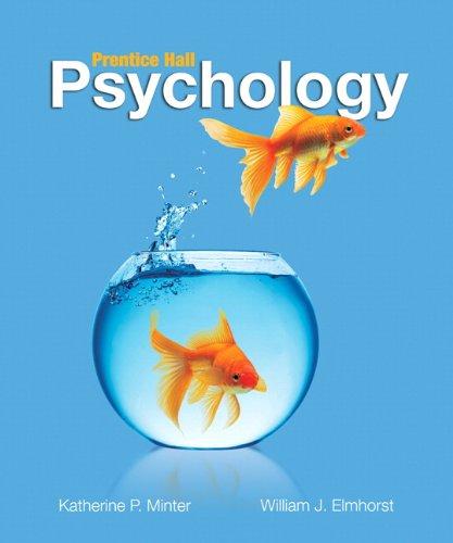 Psychology: Minter, Katherine P.;
