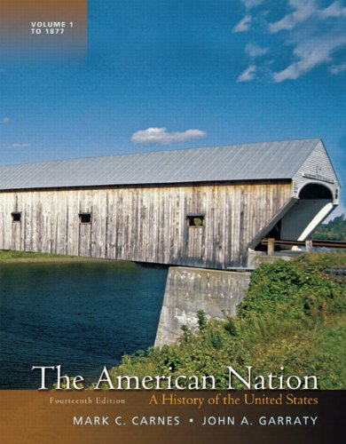 9780205790425: The American Nation: A History of the United States, Volume 1 (14th Edition)