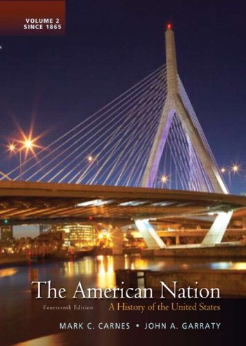 9780205790432: The American Nation: A History of the United States, Volume 2 (14th Edition)