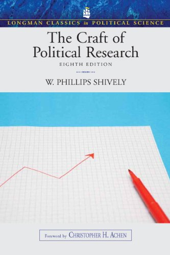 9780205791200: The Craft of Political Research, (Longman Classics in Political Science)