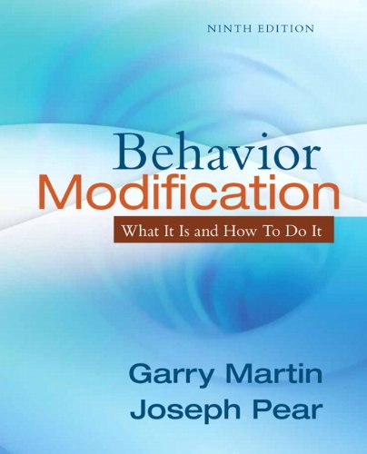 9780205792726: Behavior Modification: What It Is and How To Do It (9th Edition)