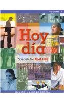 Hoy día: Spanish for Real Life, Volume 1 with MySpanishLab and Pearson eText (Access Card): ...
