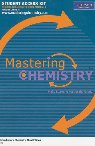 9780205795871: MasteringChemistry™ Student Access Kit for Introductory Chemistry (MasteringChemistry (Access Codes))