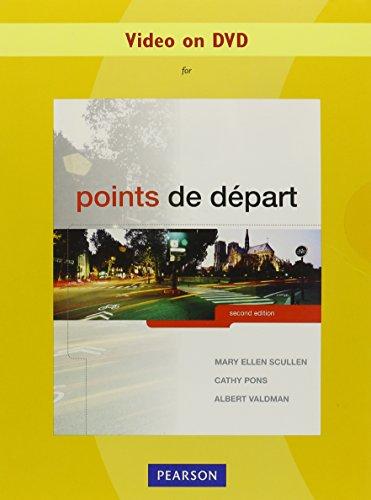 9780205796335: Video on DVD for Points de départ
