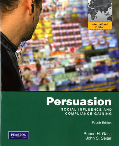 9780205796588: Persuasion, Social Influence, and Compliance Gaining: International Edition 4ed