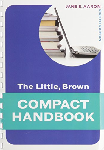 9780205796823: Little, Brown Compact Handbook, The Plus NEW MyCompLab with eText -- Access Card Package (8th Edition)