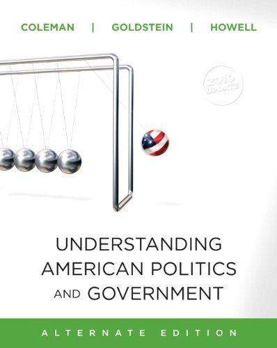 9780205798322: Understanding American Politics and Government, 2010 Update, Alternate Edition