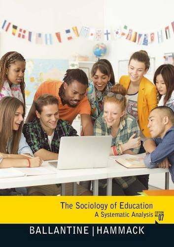 9780205800919: The Sociology of Education: A Systematic Analysis