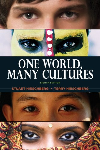9780205801107: One World, Many Cultures, 8th Edition