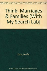 9780205801978: THINK Marriages and Families with MySearchLab