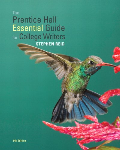 9780205802104: The Prentice Hall Essential Guide for College Writers (9th Edition)