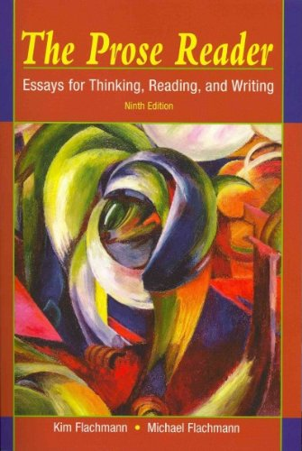 9780205802852: The Prose Reader: Essays for Thinking, Reading, and Writing with MyCompLab (12-month access) (9th Edition)