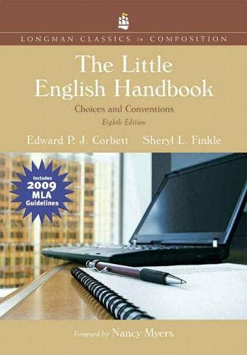 9780205803026: The Little English Handbook: Choices and Conventions, Longman Classics Edition, MLA Update Edition