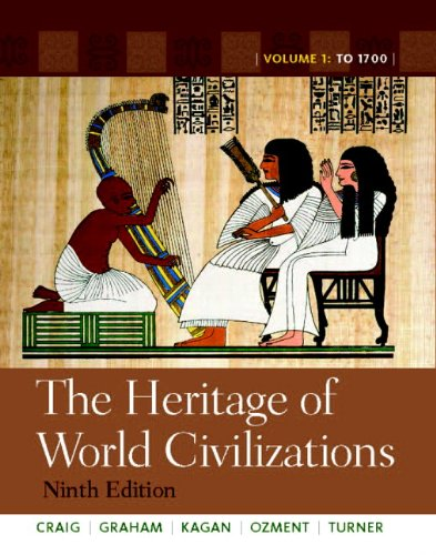 9780205803484: The Heritage of World Civilizations: Volume 1 (9th Edition)