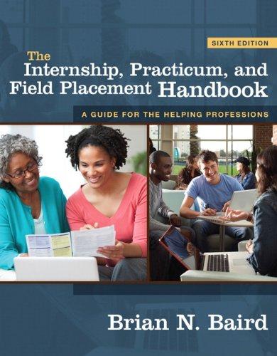 9780205804962: The Internship, Practicum, and Field Placement Handbook (6th Edition)