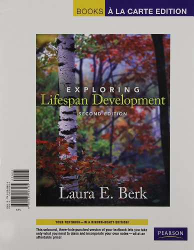 9780205806164: Exploring Lifespan Development, Books a la Carte Edition (2nd Edition)