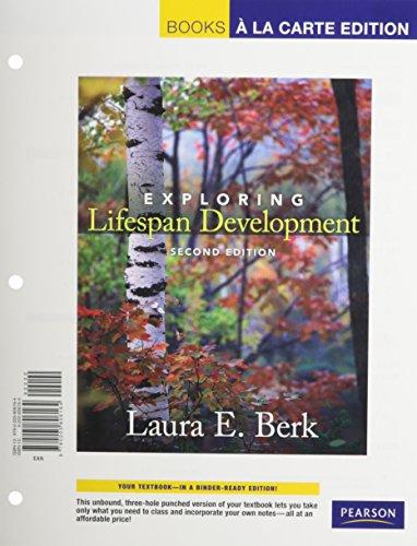 9780205806171: Exploring Lifespan Development, Books a la Carte Plus MyDevelopmentLab -- Access Card Package (2nd Edition)
