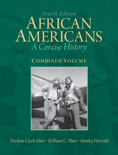 9780205806270: African Americans: A Concise History, Combined Volume (4th Edition)
