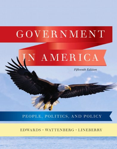 9780205806379: Government in America: People, Politics, and Policy (15th Edition)