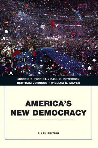 9780205806737: America's New Democracy (6th Edition) (Penguin Academics)