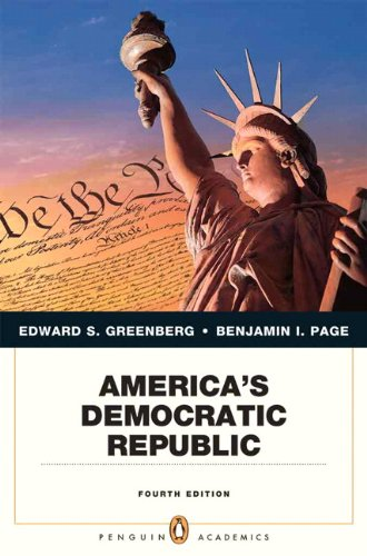 9780205806744: America's Democratic Republic (4th Edition) (Penguin Academics)