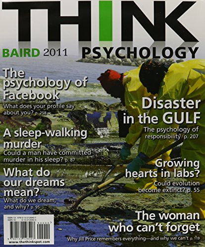9780205807819: Think Psychology [With My Search Lab]