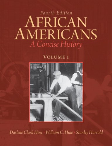 9780205809363: African Americans: A Concise History, Volume 1 (4th Edition)