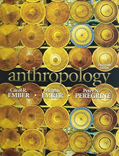 9780205810062: Anthropology with MyAnthroLab and Pearson eText Student Access Code Card (13th Edition)