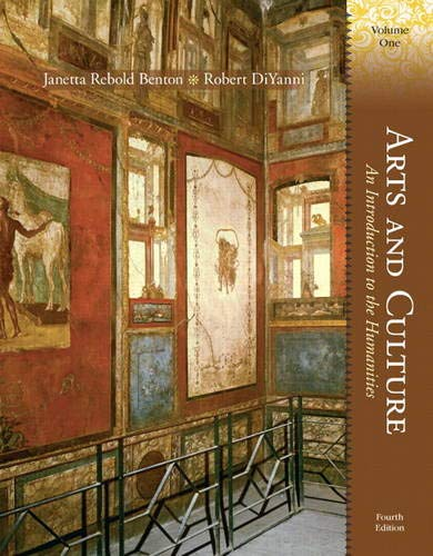 9780205816606: Arts and Culture: An Introduction to the Humanities, Volume I (4th Edition)