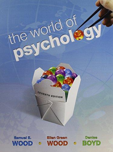 9780205819461: The World of Psychology + Mypsychlab