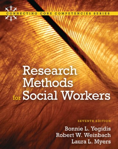 9780205820115: Research Methods for Social Workers (7th Edition)