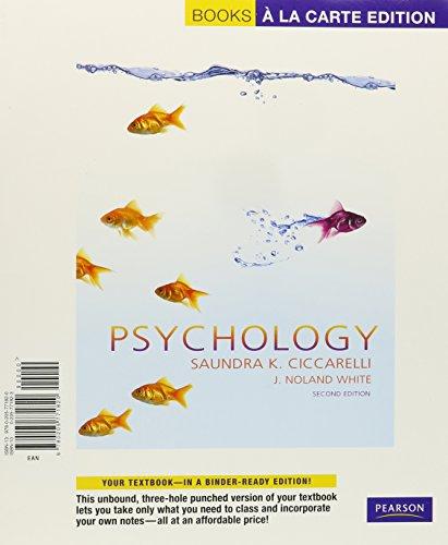9780205821648: Psychology, Books a la Carte Plus MyPsychLab Pegasus (2nd Edition)