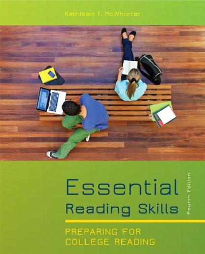 9780205823468: Essential Reading Skills (4th Edition)