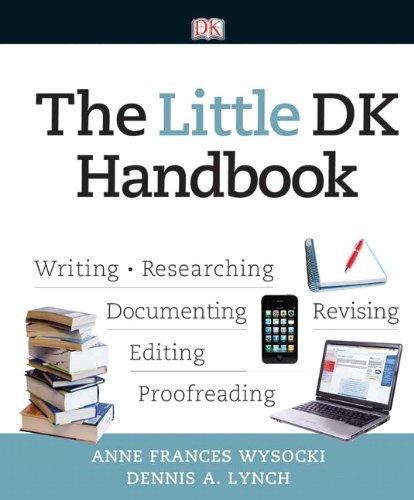 9780205823734: The Little DK Handbook (Wysocki DK Franchise)