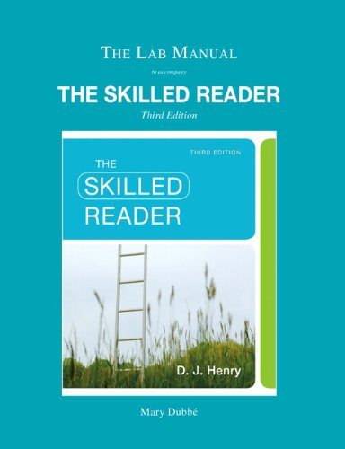 9780205824731: Lab Manual for The Skilled Reader