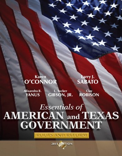 9780205825806: Essentials of American and Texas Government 2011: Roots and Reform