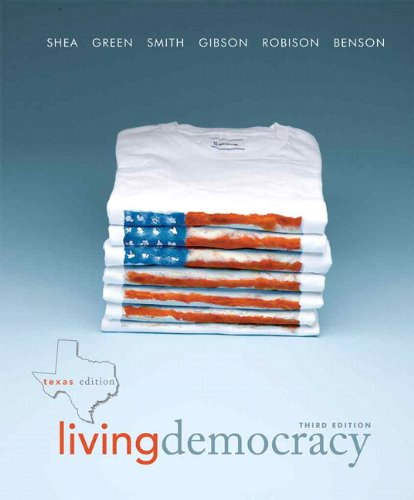 9780205825936: Living Democracy, Texas Edition (3rd Edition)
