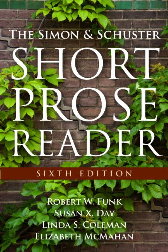9780205825998: The Simon and Schuster Short Prose Reader (6th Edition)