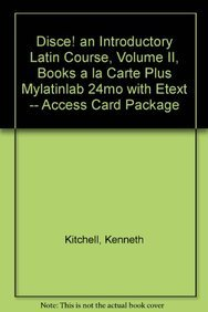 9780205826940: Disce! An Introductory Latin Course, Volume II, Books a la Carte Plus MyLatinLab (multi semester access) with eText -- Access Card Package