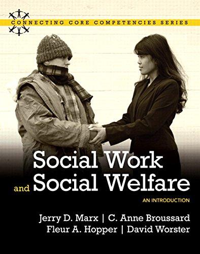 Social Work and Social Welfare: Marx, Jerry D.